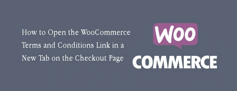 WooCommerce Terms New Tab